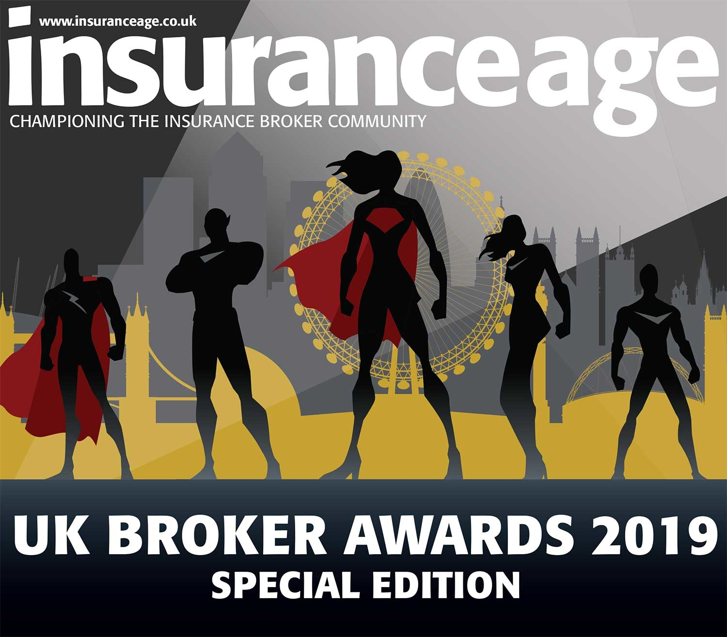 UK Broker Awards cover 2019