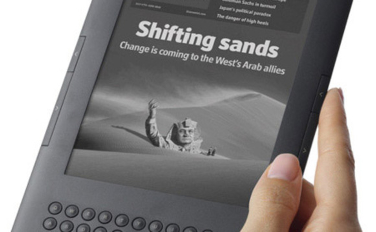 Amazon's new Kindle sports an improved screen and long battery life