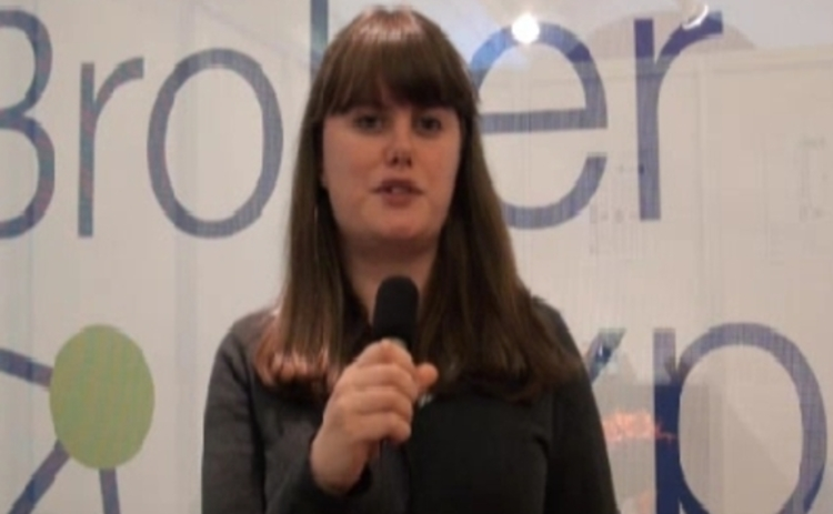 Caitlin Morrison at Broker Expo