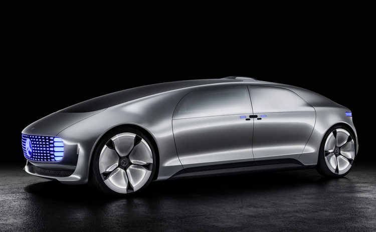 Mercedes showcases its luxury driverless car at CES 2015