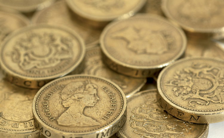 Money - pound coins