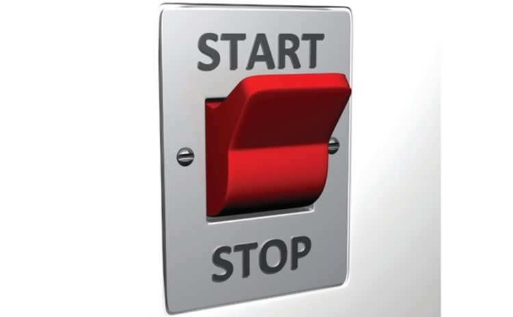 A start stop switch