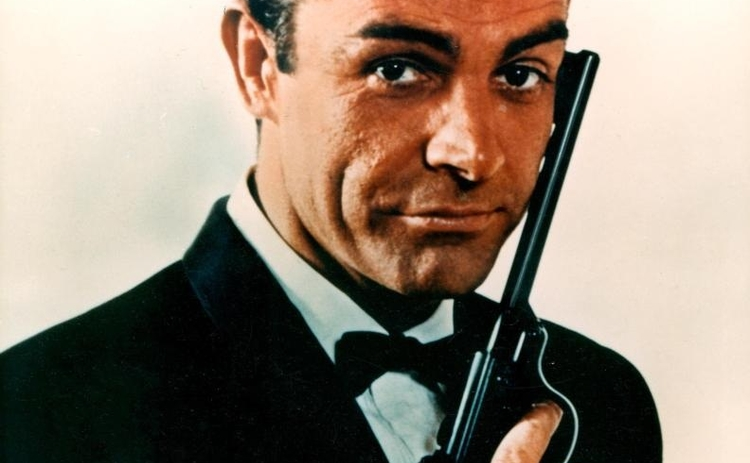 James Bond hits 50 played by Sean Connery