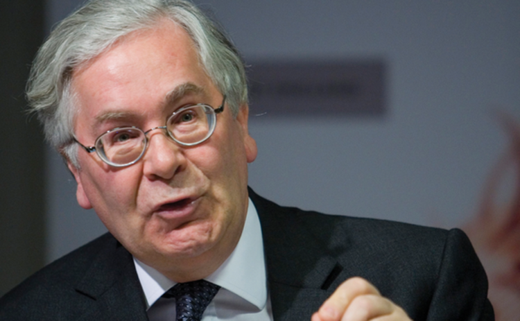 Former Bank of England governor Mervyn King