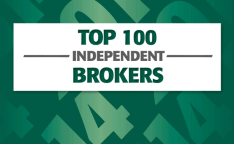 Top 100 Independent Brokers 2014
