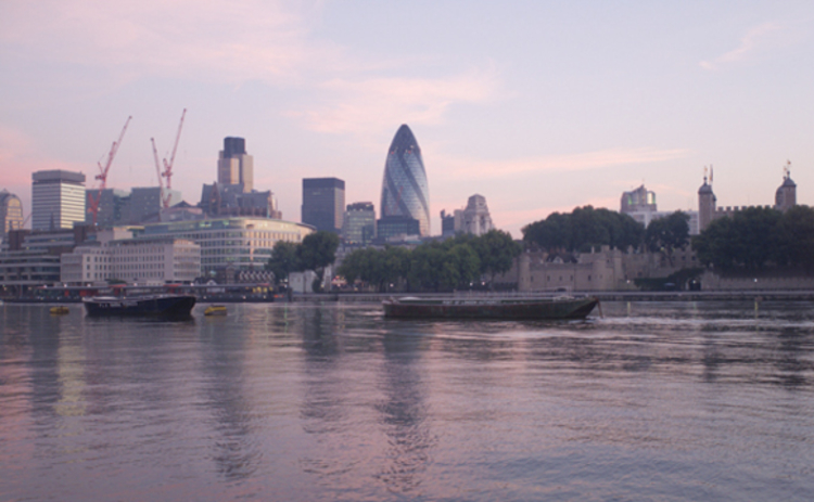 View of the City from Thames