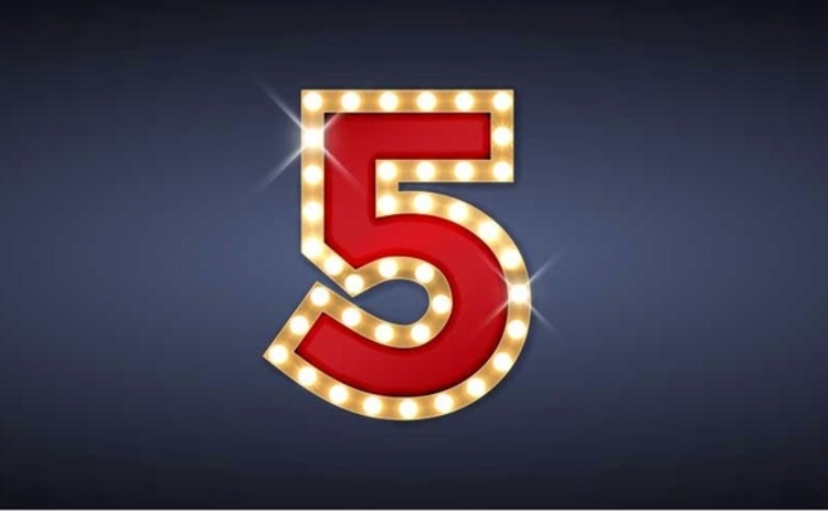 number-5-five-lights