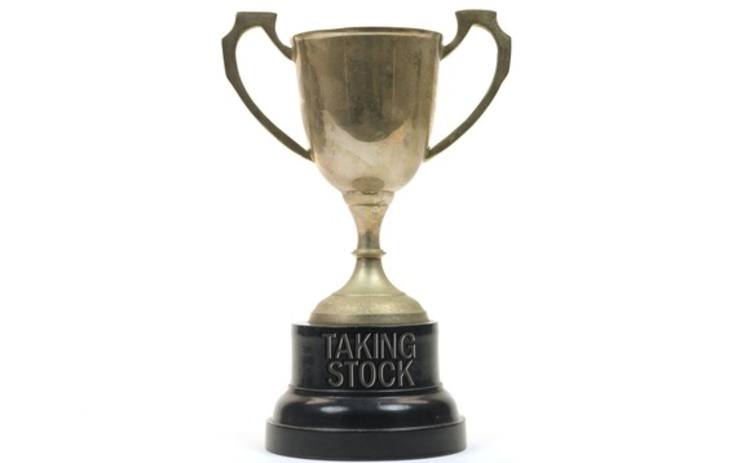 Taking Stock trophy