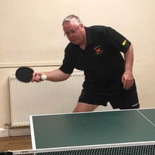 Terry Parkins table tennis